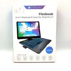 TYPECASE Flexbook- iPad Pro 11 Keyboard Case - Backlit - Wireless - 360°