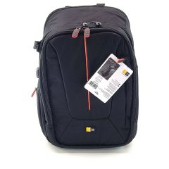 Case Logic DCB-309 SLR Camera Backpack With Padded Laptop Compartment - Black