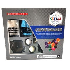Scholastic Crystal Growing Science Experiment Kit STEAM Program CRYSTALIZE