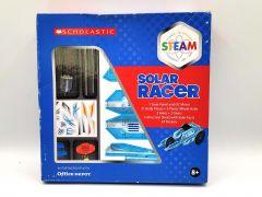 Scholastic STEAM Solar Racer Activity Kit Car Science Experimental Grades 2 to 5