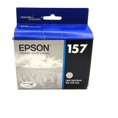 Epson UltraChrome K3 157 Inkjet Cartridge (Light Black) (T157920)