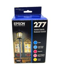 Epson T277 Claria Photo HD Standard Capacity Ink Cartridges - Color Multi-pack
