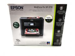 Epson WorkForce Pro WF-3730 All-in-One Wireless Color Printer Copier and Scanner