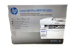 HP LaserJet Pro M130fn All-in-One Laser Printer (CD and Ink not included)