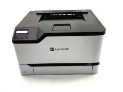 Lexmark C3224dw Color Laser Printer, Wireless, Two Sided printing, White, Gray