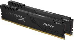 HyperX Fury 16GB DDR4 CL15 288 DIMM (Kit of 2) 1Rx8 Black Desktop Memory
