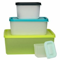 Bentology Snack Buddies -  W 4 Portion Containers Mini Bento Snack Lunch Box