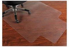 Mammoth, Pvc Chair Mat For Hard Floors 36 X 48 10 X 20 Lip Clear for Hard Floors