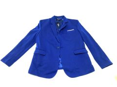 Flatseven coat for men dark blue, large.
