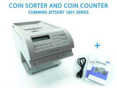 Cummins Allison JetSort 1601 Series Coin Sorter and Coin Counter
