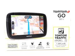 "TomTom GO 50 S 5"" Portable Vehicle GPS with Lifetime Maps & Traffic (Black)"