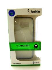 Belkin Shockproof- Scratch-resistant Cell Phone Case for Samsung Galaxy S6 - (Clear/blacktop)