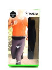 Belkin Fitness Belt for iPhone 6 / 6s, iPhone 6 Plus / 6s Plus and Other Smartphones (Black)
