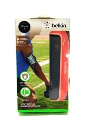 Belkin Sport-Fit Plus Armband for iPhone 7 (Carnation)