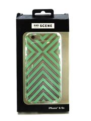 End Scene iPhone 6/6S Case  (Mint Stripe)