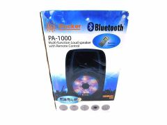 iRocker PA 1000 BriteLite Bluetooth PA Speaker System (Black)