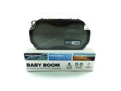 Altec Lansing - Baby Boom Portable Bluetooth Speaker - Gray