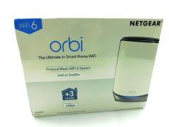 NETGEAR Orbi Whole Home Tri-band Mesh WiFi 6 Add-on Satellite (RBS850)