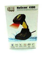 Adesso NuScan 4100B - Wireless 1D Barcode Scanner
