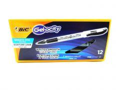 BIC Gelocity 0.5 mm RGSF11 Black Gel Ink Fine Pt. Rollerball Pen