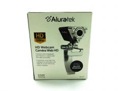 Aluratek HD 1080P Video Webcam for PC, MAC, Video Call, Conference, USB (AWC01F)