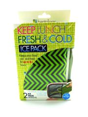 Bentology Keep Lunch Fresh & Cold - 2 Ice Pack Designs