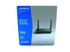 Linksys (EA6350-4B) Wi-Fi 5 Router Home AC1200 Dual Band Router, Internet Router