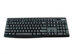 Logitech K270 Wireless Keyboard Long Battery Life Full-size With Receiver