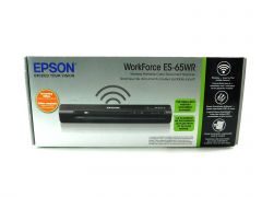 Epson WorkForce ES-65WR Wireless Portable Receipt and Color Document Scanner