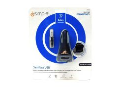iSimple Wireless FM Transmitter Jamkast USB - Black