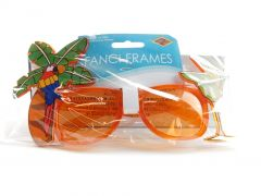 Palm Tree & Parrot Fanci-Frames (Pack of 6)