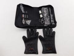 TeiKis BBQ Set 1x BBQ Gloves, 1x Bear Paws Meat Handler