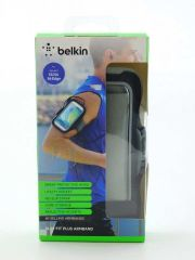 Samsung Galaxy S6 and Galaxy S6 Edge Belkin Slim-Fit Armband (Black)