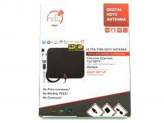 Amplified Digital HD TV Antenna 65-120 Miles Range- Powerful Amplifier 4K 1080P
