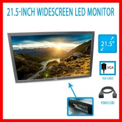 Dell E2211h Monitor Widescreen Lcd Led Professional 21.5 Full HD Backlit Vga Dvi