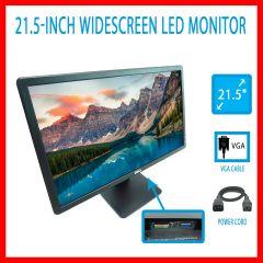 """Dell E2214hb Monitor VGA DVI Led 21.5"""" Inch 1920x1080 HD Widescreen Stand 1080p"""