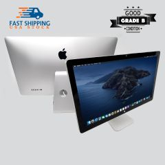 "Apple 27"" Display Lcd Widescreen three USB 2.0 ports A1407 Thunderbolt 2560x1440"