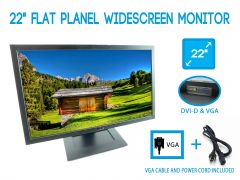 """Dell E2209WF 22"""" Flat Panel Widescreen Monitor with Power Cord"""