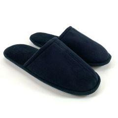 Gold Toe Mens Comfort Slide Slippers Slippers Black M (8-9)