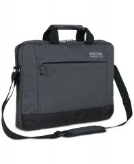 """Kenneth Cole Reaction Men's Laptop Computer up to 15.6"""" Charcoal Case Bag EDC"""