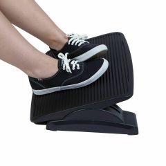Mind Reader Adjustable Height Foot Rest Black home office or dorm lightweight