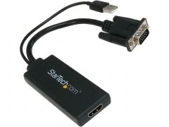 VGA to HDMI Converter for Your Laptop / PC to HDTV - AV to HDMI Connector