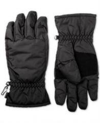 isotoner Mens Black Waterproof Touchscreen Everyday Winter Gloves M BHFO 9262