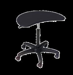 Balt BLT-48752 POP Adjustable Height Laptop Station Desk Mobile Stand - Black