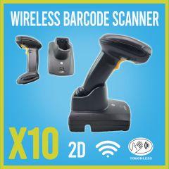 Motorola Symbol DS6878 wireless Scanner CR0078-PC1F007WR bluetooth Cradle 10 pk