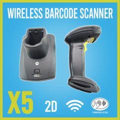 Motorola Symbol DS6878 Scanner CR0078-PC1F007WR bluetooth charging Cradle 5 pack