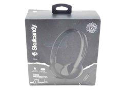 Skullcandy Stim on-ear Headphone (Black) - S2LHY-K576