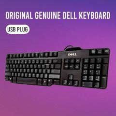Dell Keyboard L00/SK8115/RT7D50/W7658 USB Wired Black Standard 104 Key Genuine