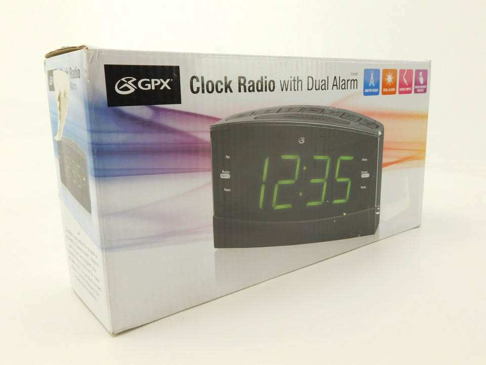 Gpx c336b dual alarm amfm clock radio with 18 led display gpx c336b dual alarm amfm clock radio with 18 led display fandeluxe Gallery