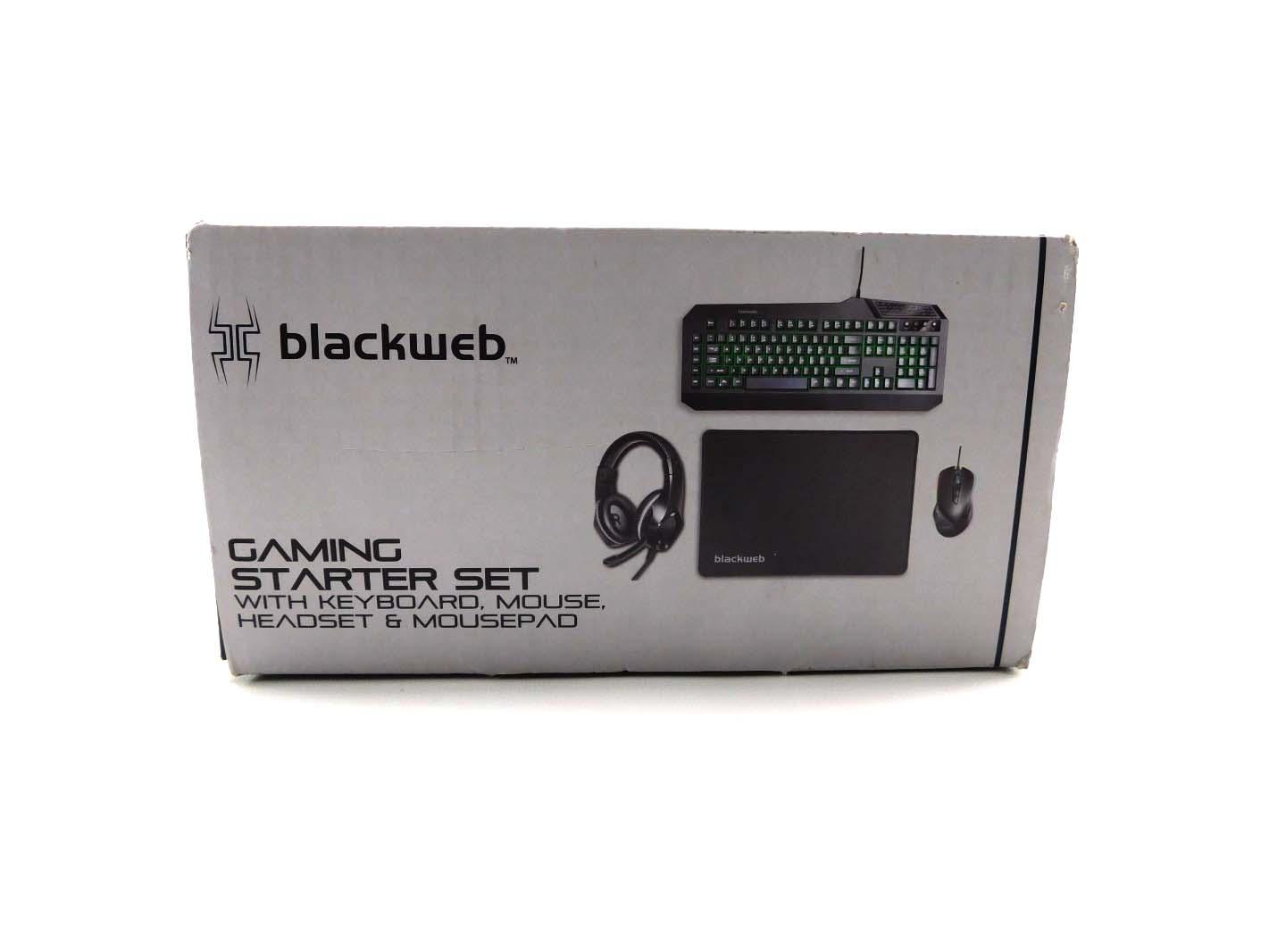 Blackweb gaming mouse
